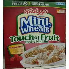 frosted mini wheats cereal touch of fruit in the middle raspberry