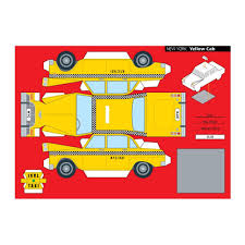 25 Dessins De Coloriage Taxi Imprimer