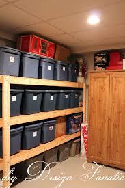 Diy Basement Diy Design Fanatic Diy Storage How To Store Your Stuff
