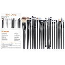 eye makeup brushes uses. emaxdesign 20 piece professional makeup brush set goatsephora brushes | ebay eye uses o