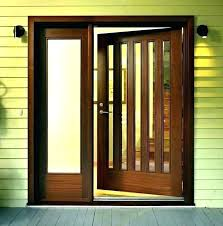 wood door with glass insert agilithclub front door glass replacement inserts entry door glass inserts replacement