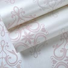 Pink Damask Wallpaper Bedroom Aliexpresscom Buy Textured Damask Wallpaper Pink White Silk