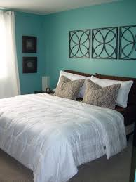 Wall : Aqua Blue Bedroom Walls Color Combinations Easy Steps to