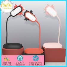 Đèn bàn học sạc tích điện DBH01 Chichi. Đèn led đọc sách chống cận cho trẻ  học sinh