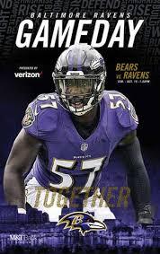 Week 6 Bears Vs Ravens Gameday Program By Baltimore Ravens
