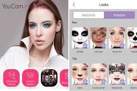 meilleures application maquillage beauté en réalité augmentée sur ios android smartphone ar