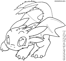 Coloring Pages Coloring Pages How To Train Youron Images New Httyd