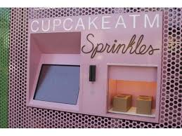 Cupcake Vending Machine Tampa Simple Sprinkles Cupcakes Aims To Sweeten Tampa Tampa FL Patch