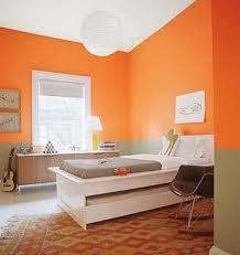 orange wall paintModern Interior Design Ideas Celebrating Bright Orange Color
