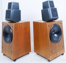 kef 105 speakers. kef model 105 series ii vintage speakers; 1-owner; factory boxes kef speakers