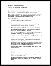 Cover Letter How To Write A Resume For A Sales Associate Position