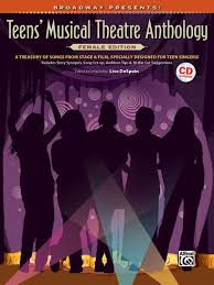 Teens musical theatre anthology alfred publishers