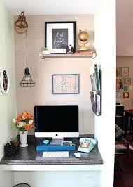 how to decorate small office. How To Decorate A Small Office Tiny Home D