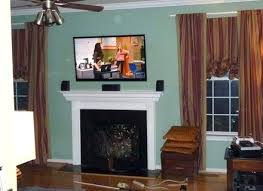 tv above gas fireplace mounting a flat screen above gas fireplace image collections tv above gas