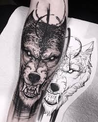 40 Best Wolf Head Tattoo Designs And Ideas 2019 Tattoos Wolf