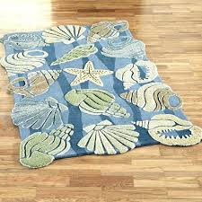 ocean themed rugs beach themed rugs nautical area for bedroom starfish medium size of kids round ocean themed rugs