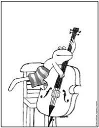 Muziek Max Velthuijs Muziek Kleurplaten En Muziekinstrumenten