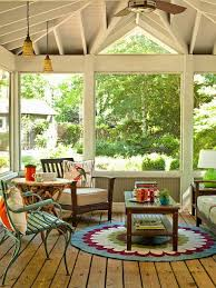 screened in porch furniture. screened in porch decorating ideas this sunroom simple mission style furniture gets a dose o