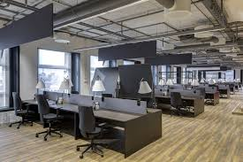 open office concept. A Typical, Modern Open Office. Office Concept U