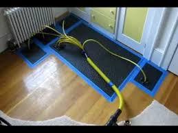 how to repair and dry wet hardwood floor water damage sudbury weston machusetts you