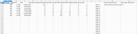 weekly sheets google sheets formula for weekly column totals web applications