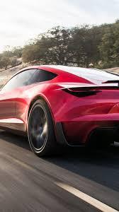 tesla roadster 2020 cars electric car 4k vertical