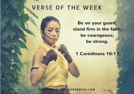 Just like a tree is nourished by the constant supply of water—without which, under the blistering sun, the tree would surely die—so the life that is rooted in the word of god will also be established and will be strong. here are some bible verses about strength and faith that will help us in hard times. Votw 7 Be Strong Stay Strong Daily Warrior