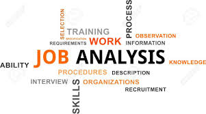 Job Analysis A Word Cloud Of Job Analysis Related Items Royalty Free Cliparts 5