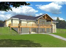 inspirational house plans for sloping lots and ideas house plans sloping lot walkout basement 61 house