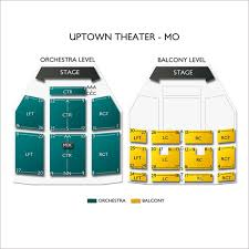 Uptown Seating Chart Uptown Theater Kansas City Tickets