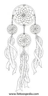 Dream Catcher Tattoo Stencils Dreamcatcher Tattoo Designs Pinterest 100 Projects to Try 8