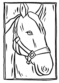 Small Picture Horse Head Coloring Pages To Print