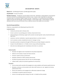 Starbucks Job Description For Resume Florist Job Description Resume Best Of Starbucks Cover Letter Image 5