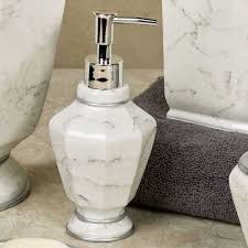 elegance faux marble bath accessories elegance lotion soap dispenser ivory touch to zoom elegance lotion soap dispenser ivory