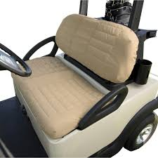 golf cart seat covers best club car carryall replacement seats full size
