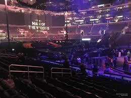 Disney On Ice Dare To Dream Staples Center Seating Chart Staples Center Section 112 Concert Seating Rateyourseats Com