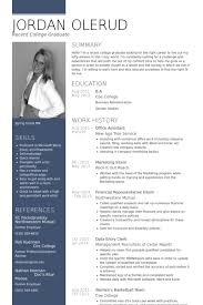 Office Assistant Resume Impressive Office Assistant Resume Samples VisualCV Resume Samples Database