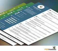 Free Resume Templates For Designers 100 Best Free Resume CV Templates PSD Download Download PSD 40