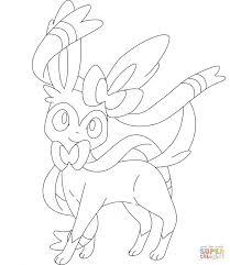 Pokemon Sylveon Coloring Pages - Cartoon - Best Photos Of Pokemon ...