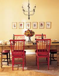 dining room chairs red endearing decor