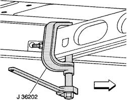 torsion bar removal tool. fig. torsion bar removal tool