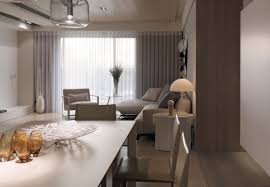 cool apartment furniture. apartment:clean white beige furniture in small studio apartment as best idea for cool space .