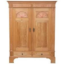 18th century antique north german pine sun armoire with gesso appliqu antique english country armoire circa 1830s