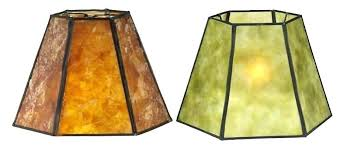replacement lamp shade vintage amber glass lamp shade