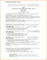 10 Resume Headings Format Happy Tots