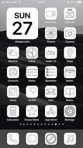 Aesthetic White iOS 14 App Icons Pack ...