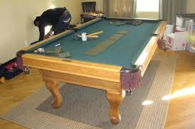 rug under pool table size pool table rug size home design ideas