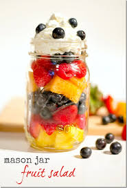 Fruit In A Jar Decorations Fruit Salad in a Mason Jar Mason Jar Crafts Love 2