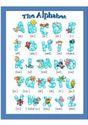 The english alphabet has 26 letters. The English Alphabet Pronunciation Esl Worksheet By Anny