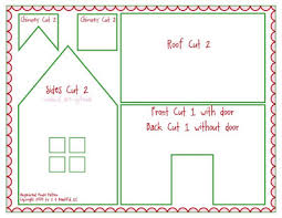 Gingerbread House Patterns Custom Kid Giddy Aka Kerry Goulder Sewing Patterns Crafts DIY Recipes